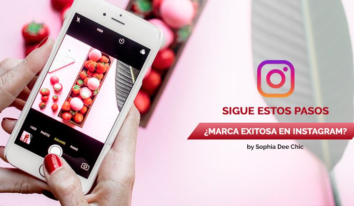 ¿Marca exitosa en Instagram? Sigue estos pasos by @SophiaDeeChic